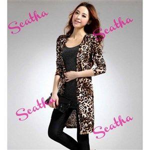 Chaqueta estampado de leopardo