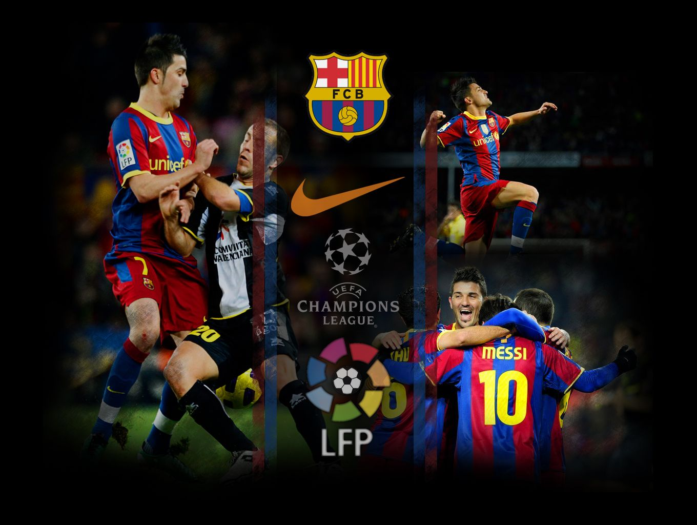 Wallpapers of FC Barcelona still on the top position of Spanish La ...