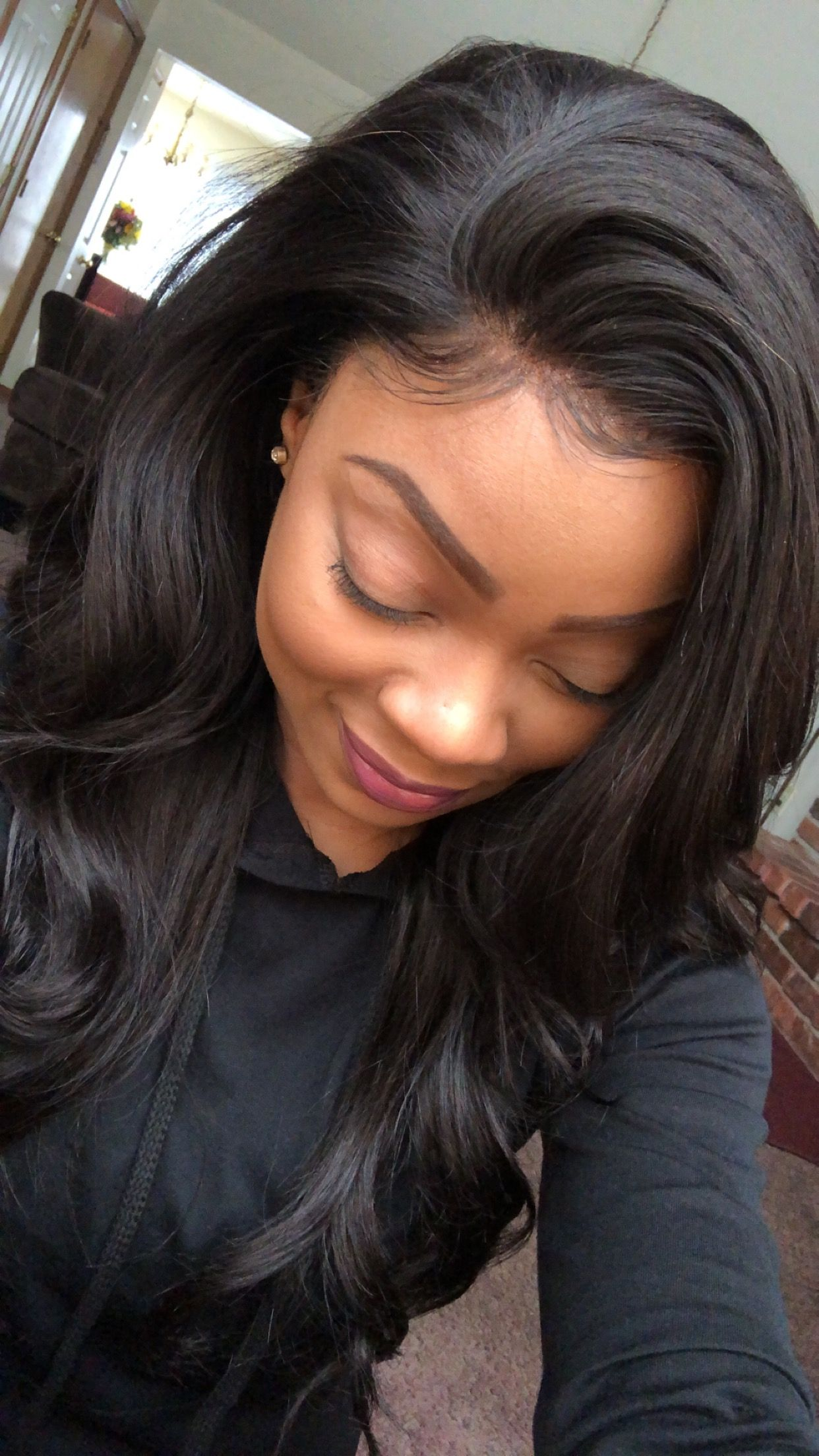 Frontal Sew In 14 16 18 12 Inch Frontal Hair Designs Long Hair Styles Hair Styles