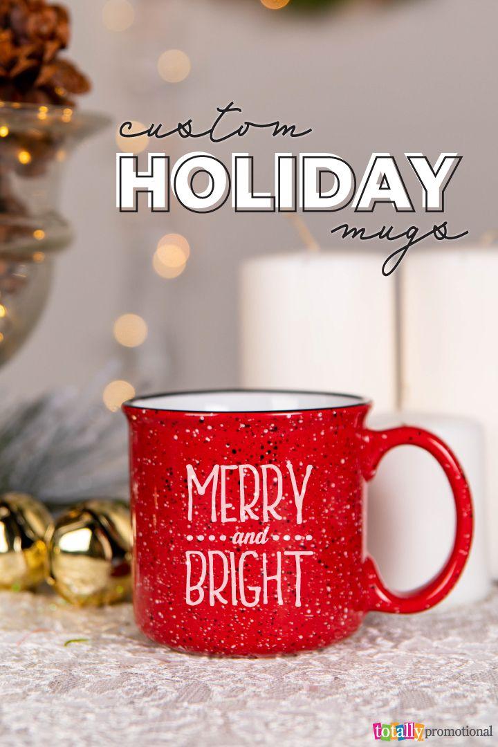 Custom Holiday Mugs #custommugs