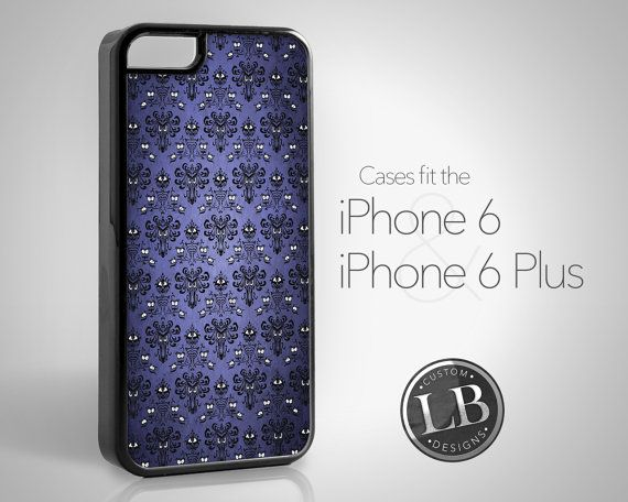 6f90630b3 iPhone 6 Case - Haunted Mansion Wallpaper Ghouls - iPhone 6 / 6 Plus Cover  IP6