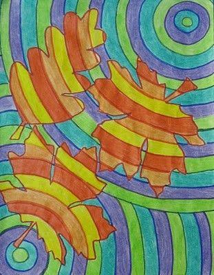 arts visuels: couleurs chaudes et froides | dessin | Pinterest | Art ...