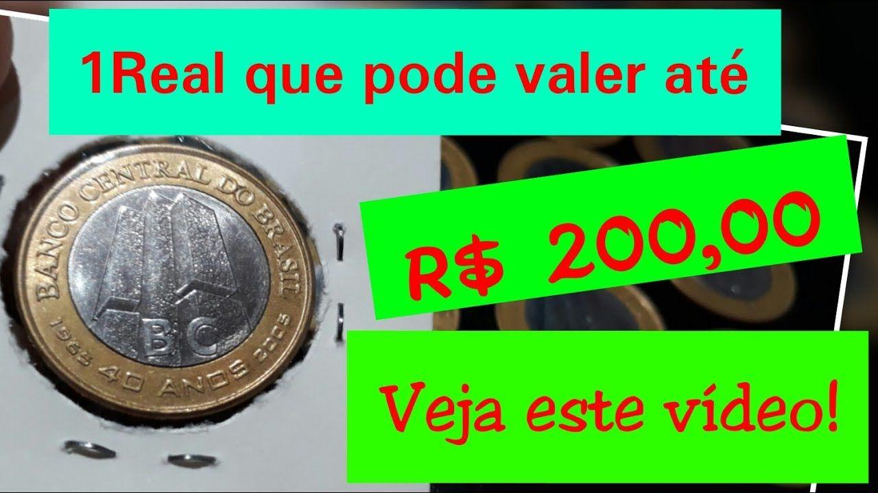 Preco Da Moeda Comemorativa Banco Central 40 Anos