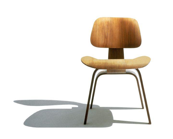 HermanMiller® Eames® Molded Plywood Dining (Metal Legs