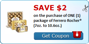 Save 2 00 On The Purchase Of One 1 Package Of Ferrero Rocher 7oz To 10 6oz Lansinoh Momma Bottle Printable Coupons Coupons