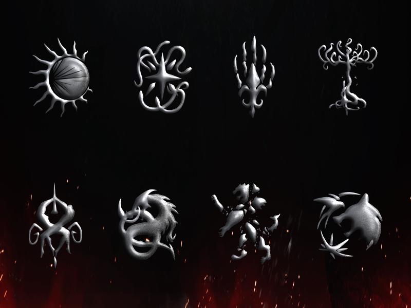I Create A Witcher Netflix Logo Set For An App I Want To Make Logo Set Font Identification Netflix