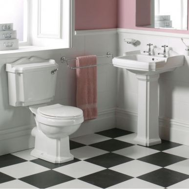 Traditional Basin And Toilet Set Cheap Suites 135 Cheap Bathroom Suites Traditional Bathroom Big Bathrooms