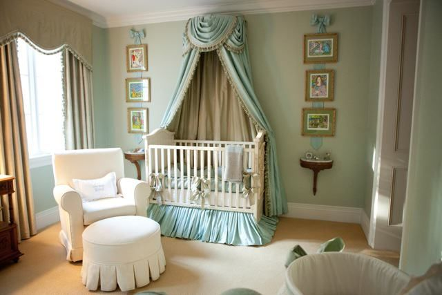 Image Of Elegant Crib Canopy Holder Crib Canopy Dream Nurseries Nursery Design