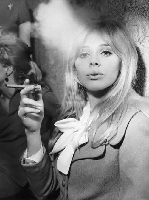 Britt Ekland. Visit my friend's site Fuck Yeah 60's Fashion for more fab 60's looks.