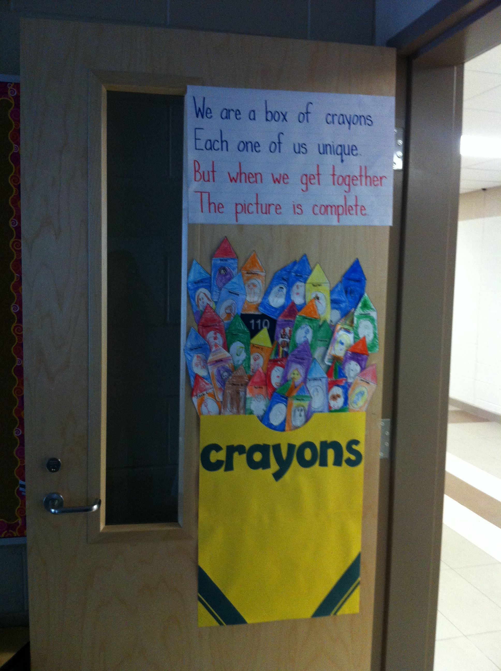 The Crayon Box That Talked Kindergarten Activity I Did