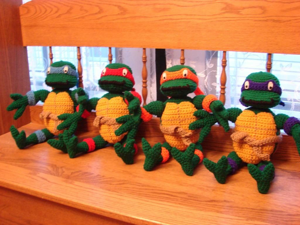 Can you name all the characters in the Teenage Mutant Ninja Turtles ...