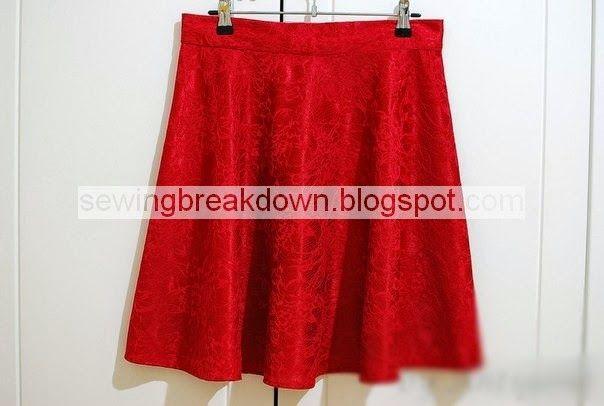 خياطة و تفصيل طريقة خياطة تنورة خطوة بخطوة Sewing Skirts Fashion Skirts