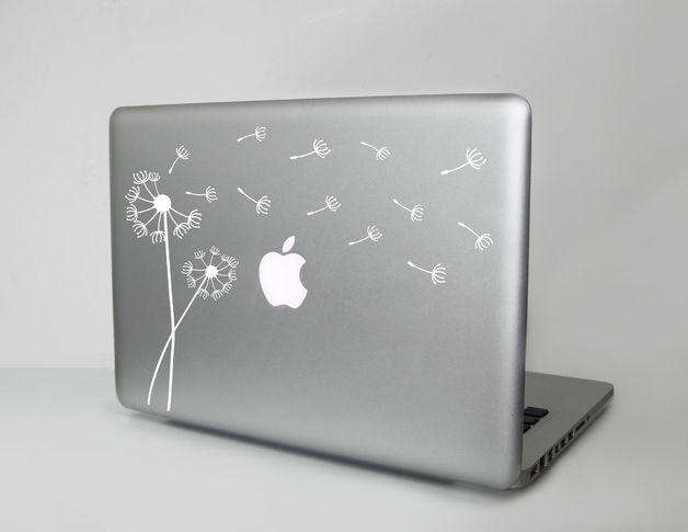 Laptop Sticker Pusteblume Laptop Design Laptop Decal