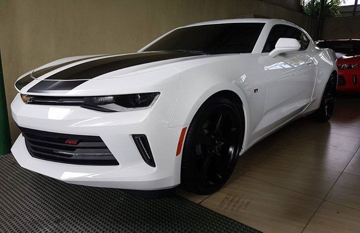 Brand New 2017 Chevrolet Camaro Rs New Look Dubai Version Ready