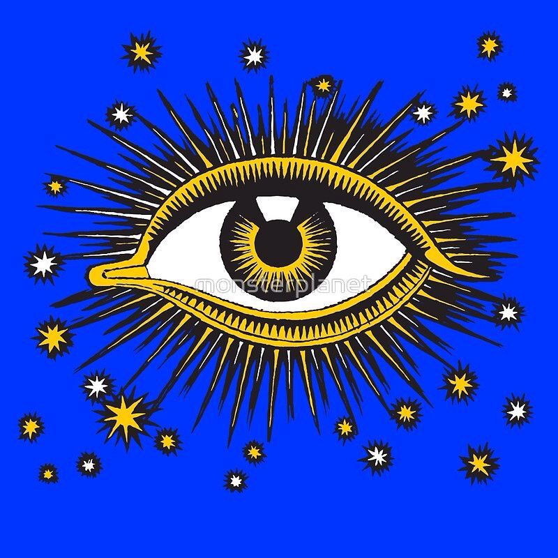 All seeing eye by All seeing eye, Eye