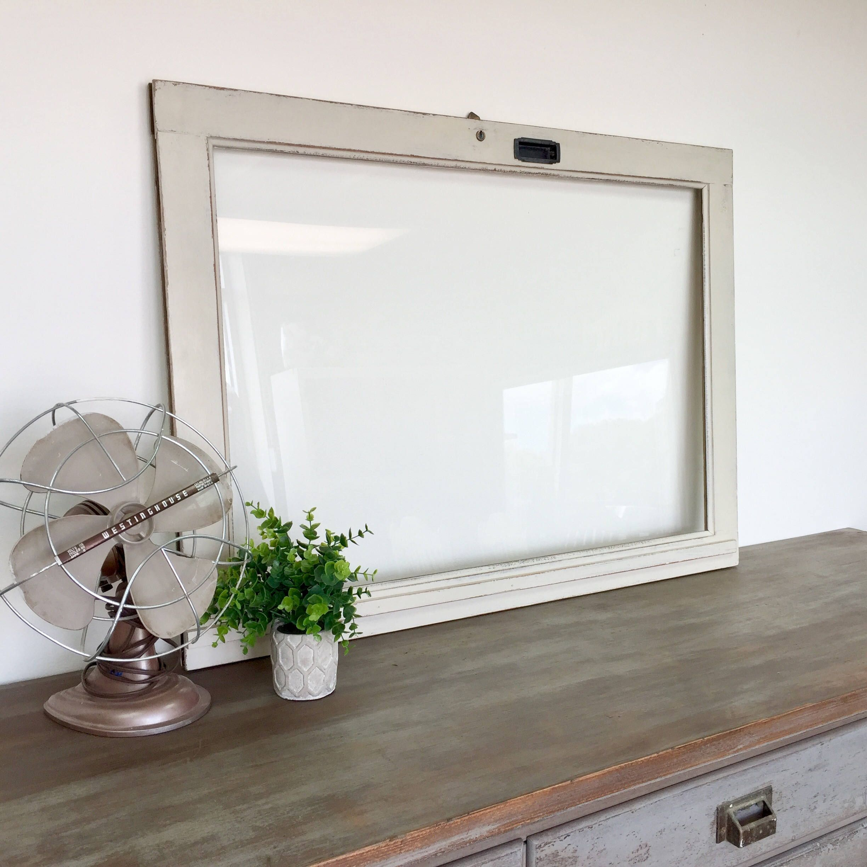 Rustic Window Frame - Fixer Upper Decor | Dry erase markers, Menu ...