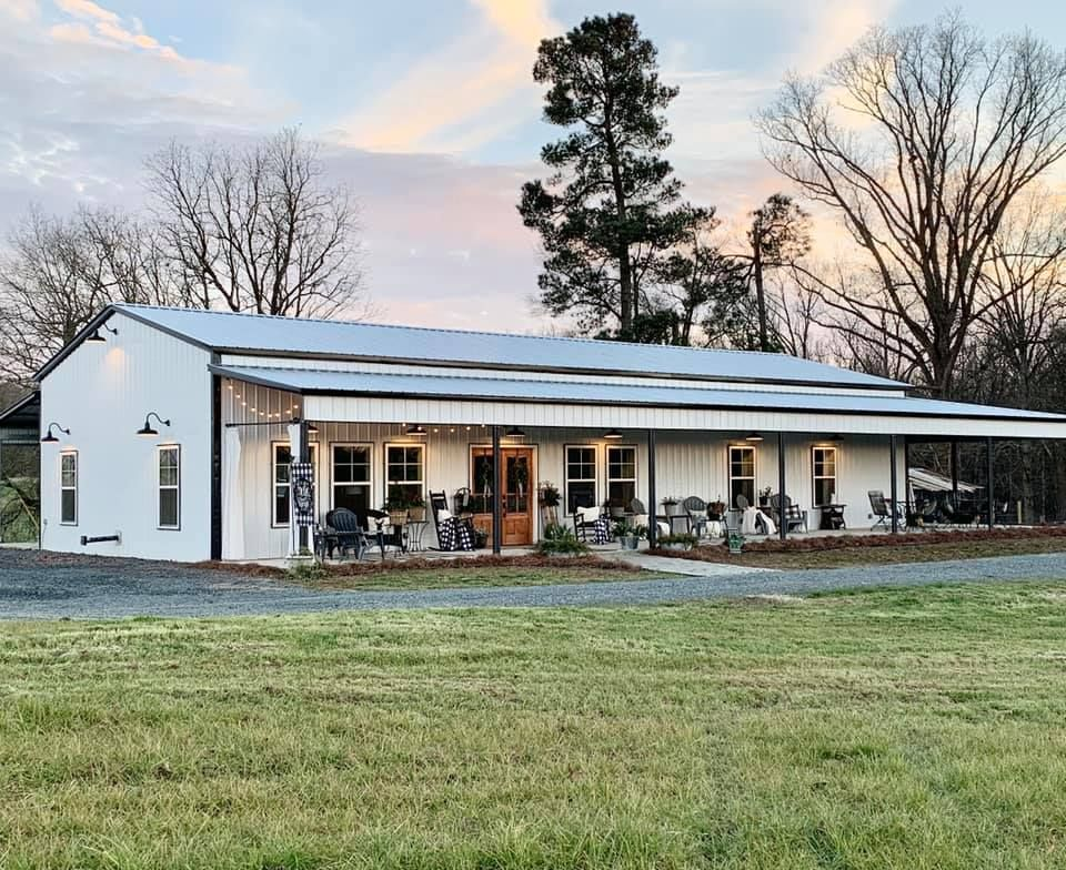 Breathtaking Charlotte NC Barndominium at the McGinnis Hickory Nut Farm in 26 Captivating s