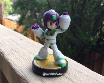 Items Similar To Custom Sonic Amiibo For Super Smash Bros Wii U On Etsy Smash Bros Cool Lego Creations Mega Man