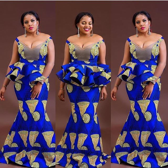 Latest Ankara Long Gown Styles Hi Ladies The Trending Styles In