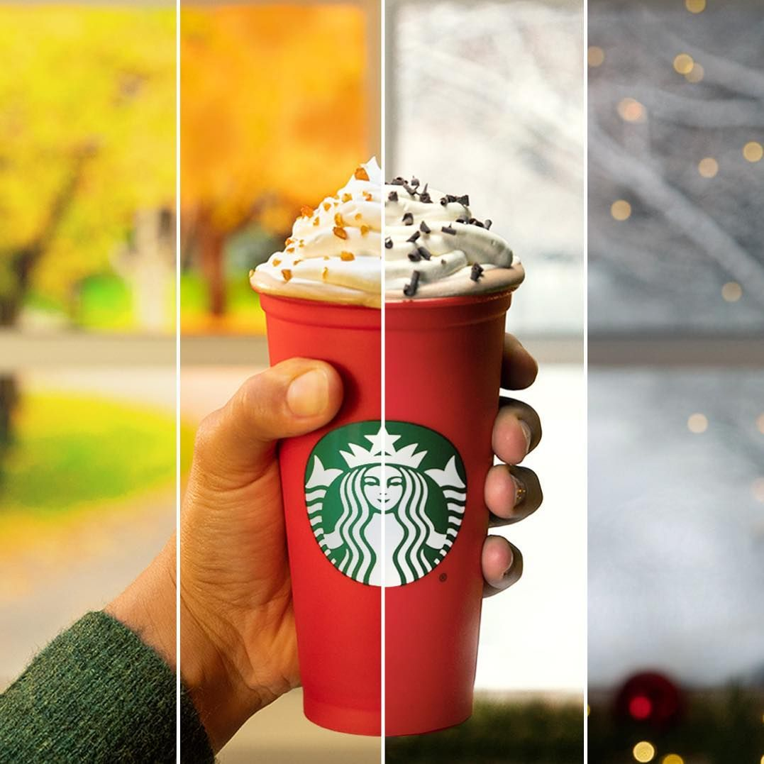 It's red cup season! Tomorrow (Nov. 2), get the limited