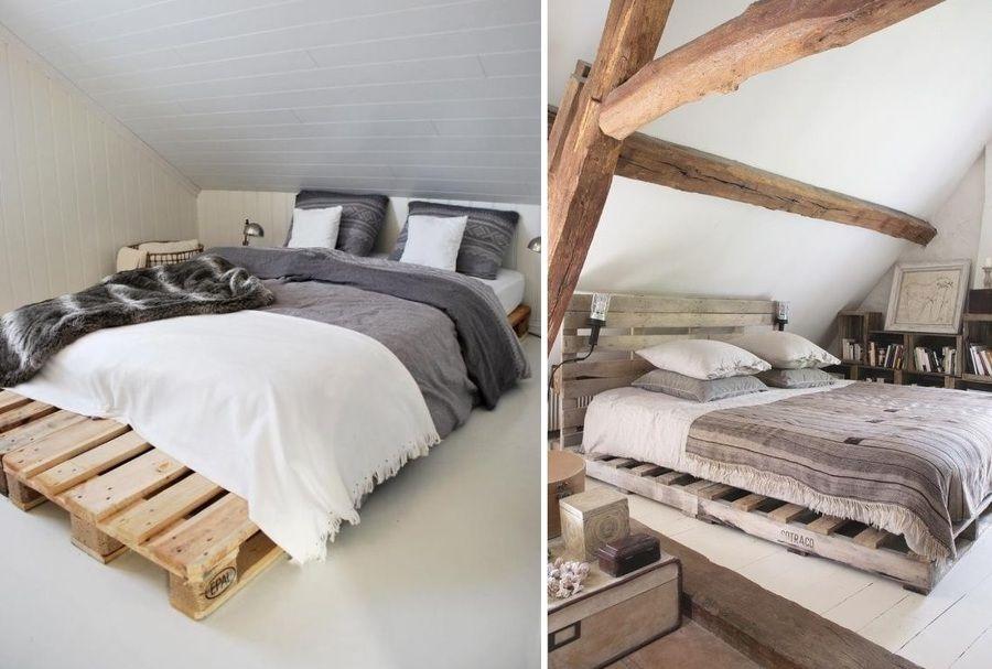 cama palet madera - Camas Con Palets