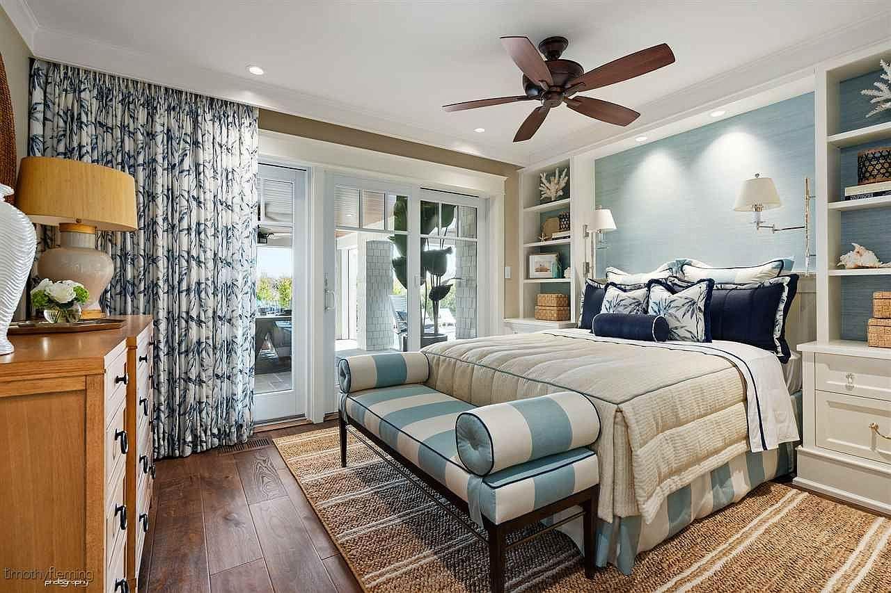 Pin On Transitional Coastal Bedroom