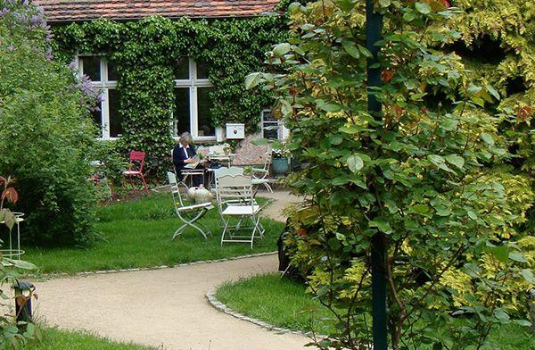 GartenhausCafé Garten, Gartenhaus, Haus