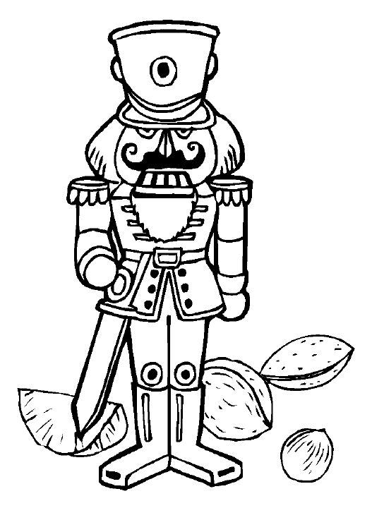 Nutcracker coloring pages nutcracker coloring page for Nutcracker ballet coloring pages