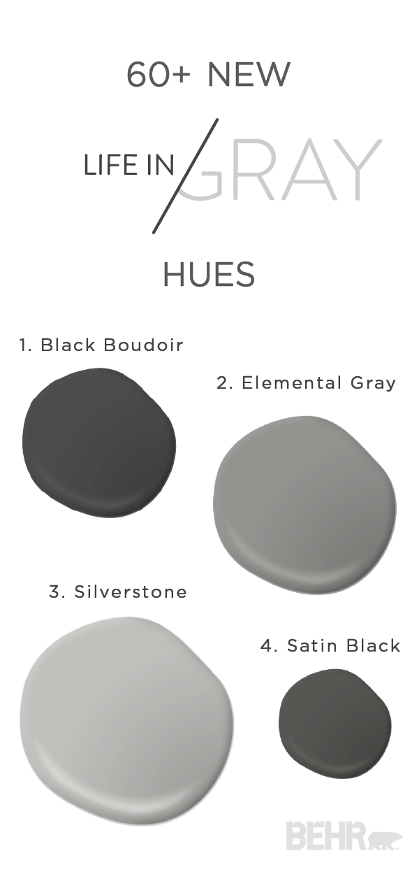 Gray Is The Perfect Neutral Whether You Pair It With Diffe Pops Of Color Or Use To Create A Simple Monochromatic Living E This Paint Combination