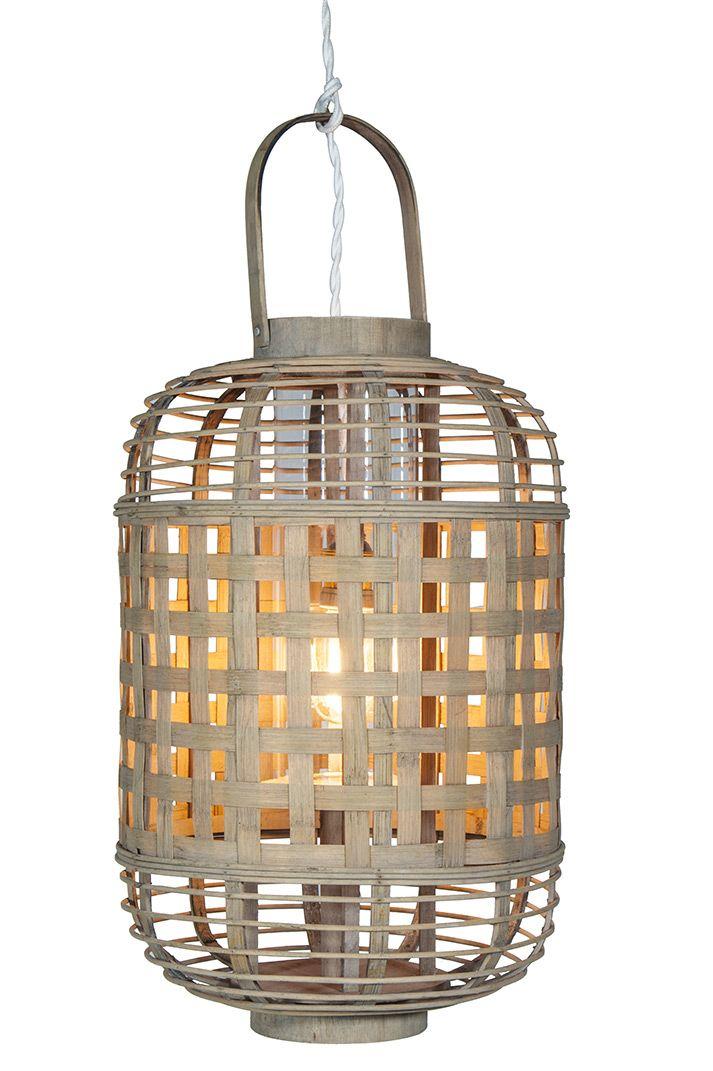 lámparas de bambú colgantes, para techo, económicas. | mobiliario fs