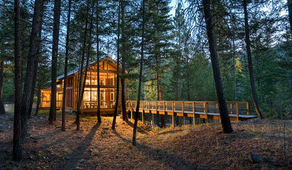 Bosque de washington i want to live here pinterest - Imagenes de cabanas de madera ...
