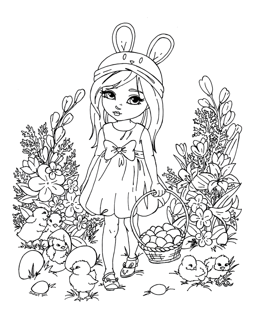 Easter Chicks by JadeDragonne.deviantart.com on @deviantART | Jade ...