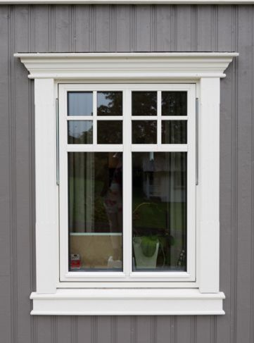 54eebcf5b1762c46cb2d4b2c23aa1bcf - Download Small House Front Window Modern Exterior Window Design Molding Images