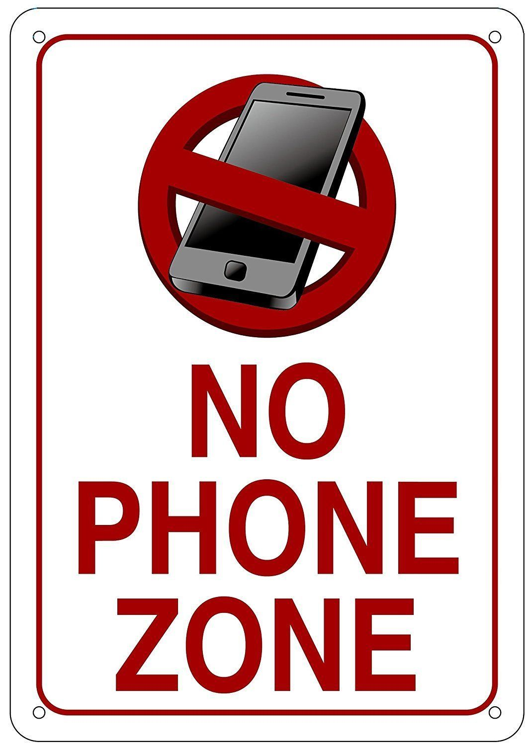 Pin by Issac on Business Signs No cell phone sign