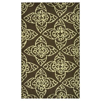 Loloi Rugs Summerton Brown & Ivory Area Rug Rug Size: