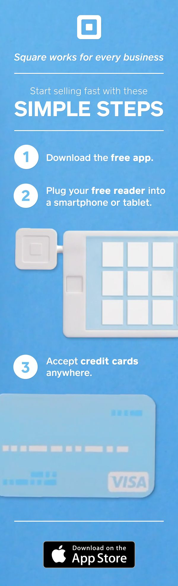 Square Point Of Sale Accept All Major Credit Cards With No