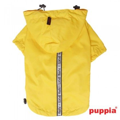 base jumper regenmantel gelb hundemantel hundebekleidung hundezubeh r der online shop. Black Bedroom Furniture Sets. Home Design Ideas