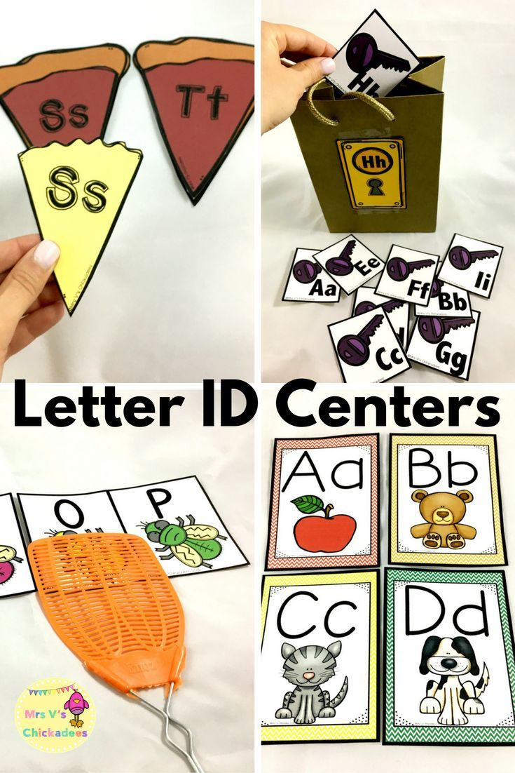 Rti Letter Identification Pack  Phonics Centers Letter
