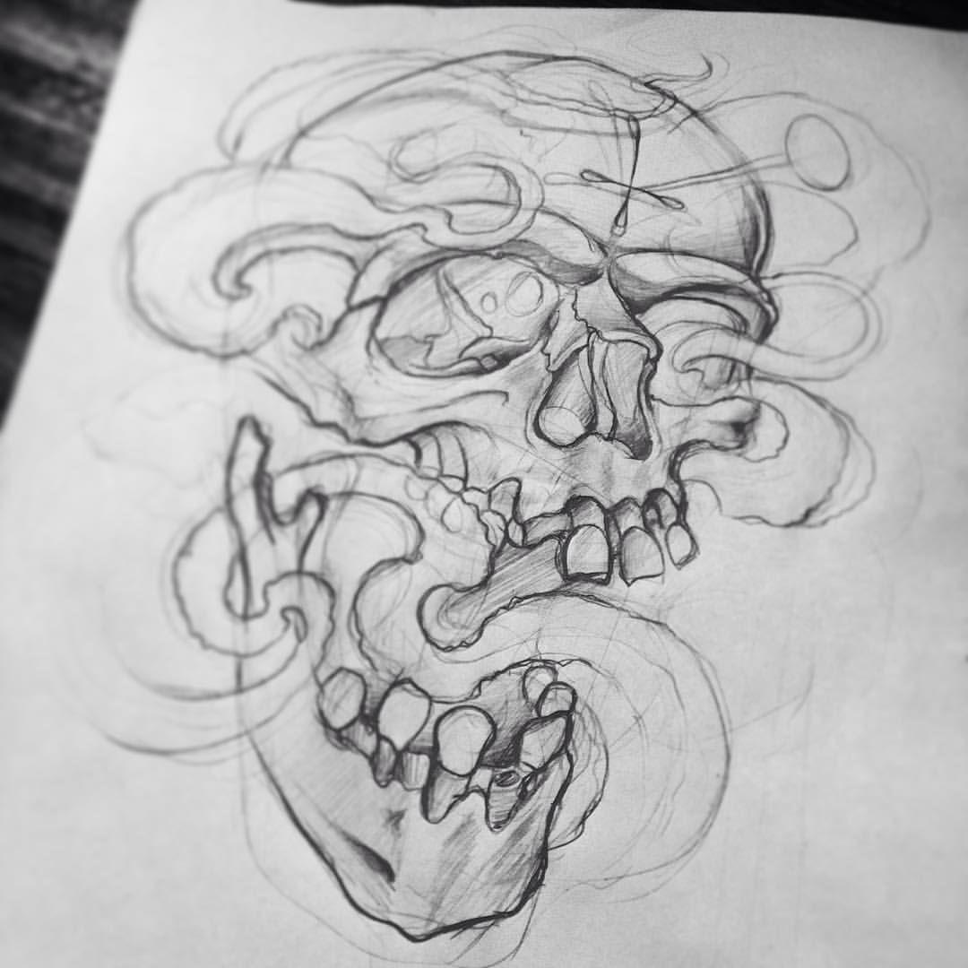 Tumblr Nvk6u7ghhx1qzawaco1 1280 Jpg 1080 1080 Skull Art Drawing Tattoo Design Drawings Skull Tattoo Design