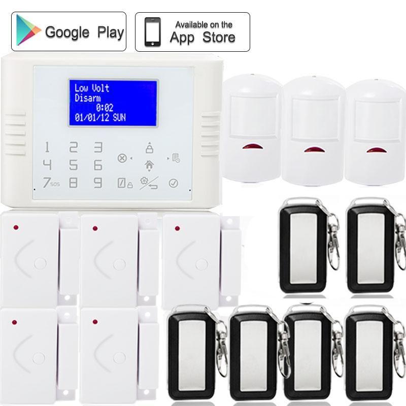 433mhz wireless iosandroid app control gsm pstn dual