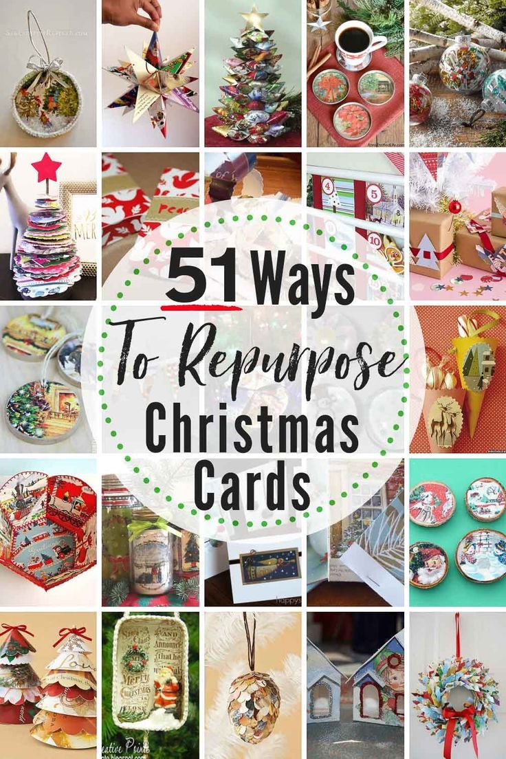 51 EPIC Ways To Reuse & Repurpose Old Christmas Cards Right Now! #whattodowitholdchristmascards #recyclechristmascards #upcyclechristmascards #repurposechristmascards #christmascardcrafts #christmascardcraftideas #waystorepurposechristmascards #oldchristmascards #reusechristmascards #newuseoldcards #waystouseoldgreetingcards #greetingcardcrafts #upcyle #repurpose #reuse #recycle