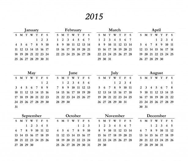 Printable 2015 Calendar 2015 Calendar Printable Printable