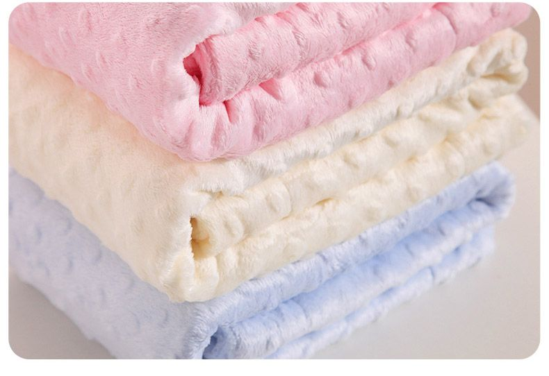 2014 Autumn and winter thickening bubble fleece blanket double layer baby blankets newborn cart baby blanket Throw 80*110cm-inThrow from Home & Garden on Aliexpress.com | Alibaba Group