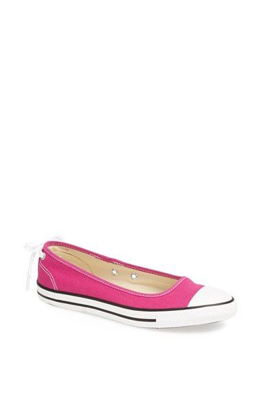 9eb458dcf28e Converse Chuck Taylor® All Star®  Dainty  Ballerina Flat Sneaker (Women)  available at  Nordstrom