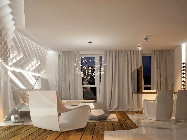 Futuristic Interior Design   Home and Interior Design Ideas