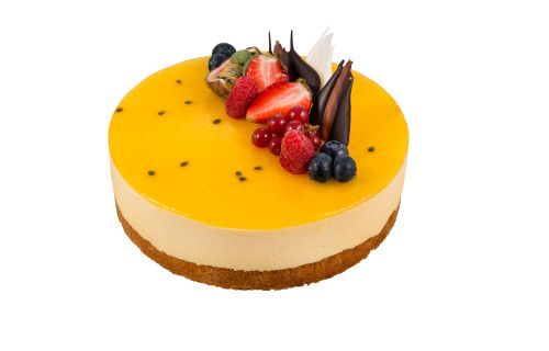 Mango Passion, Mousse Cake, Leipomo Keisari, Finnish Bakery, March 2016