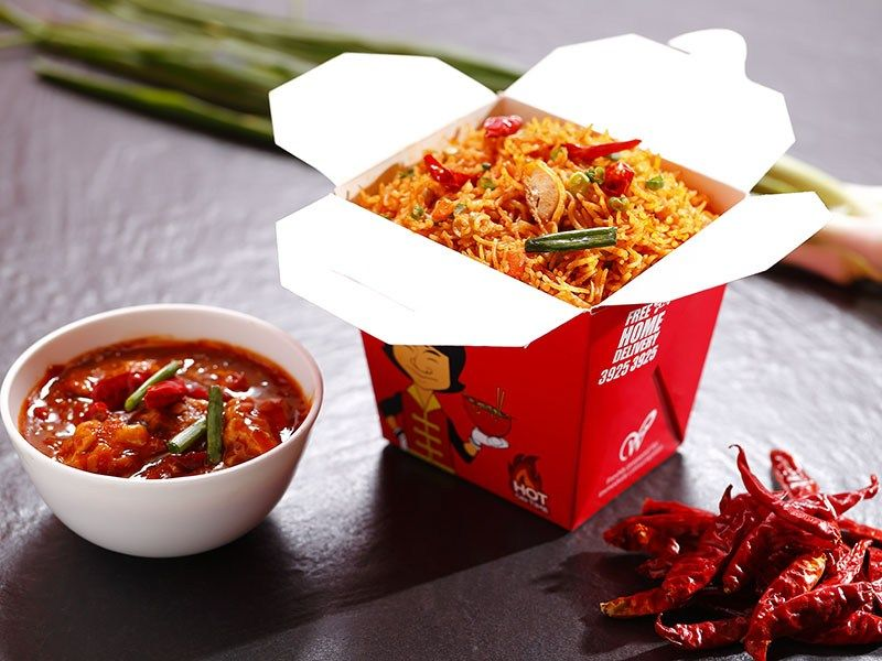 Chennai Based Wangs Kitchen Introduces My Box With Delicious Combos Hungryforever Food Blog Rice Box Food Photographing Food