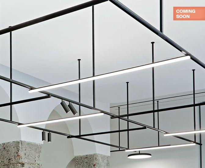 Illuminazione Da Soffitto Per Ufficio : Infra structure lampade da soffitto lampade da