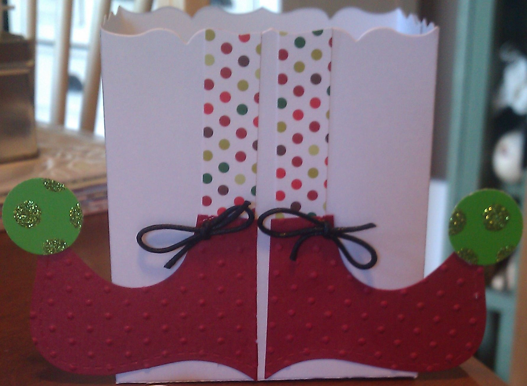 Christmas treat box.