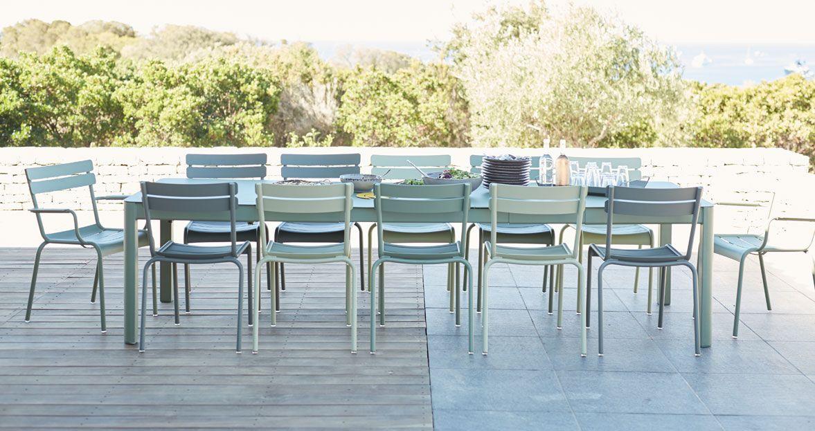 mobilier de jardin chaise metal fauteuil de jardin mobilier